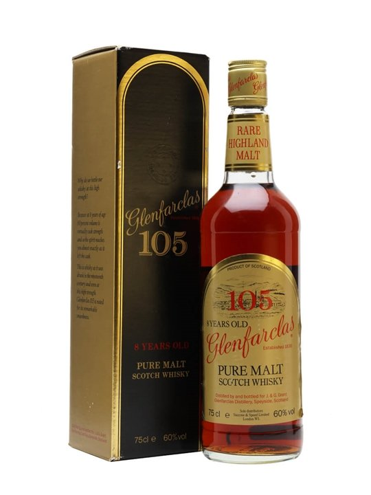 Glenfarclas 8 Year Old / 105' proof / Bot.1980s Speyside Whisky