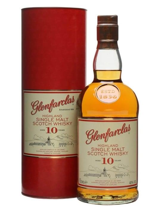 Glenfarclas 10 Year Old Speyside Single Malt Scotch Whisky