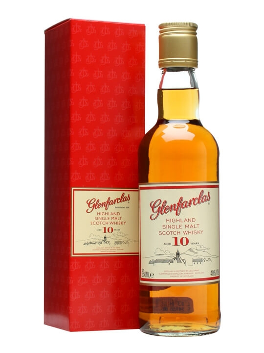 Glenfarclas 10 Year Old / Half Bottle Speyside Whisky