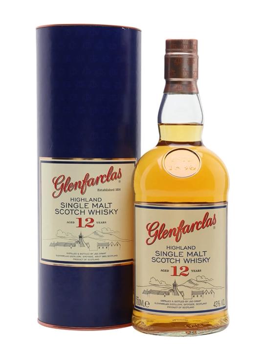Glenfarclas 12 Year Old Speyside Single Malt Scotch Whisky