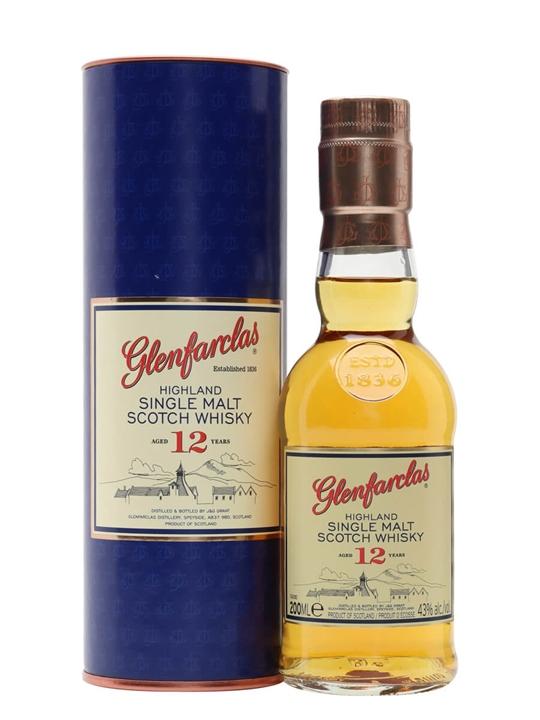 Glenfarclas 12 Year Old / Small Bottle Speyside Whisky
