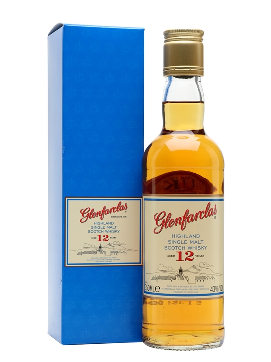 Glenfarclas 12 Year Old / Half Bottle Speyside Whisky