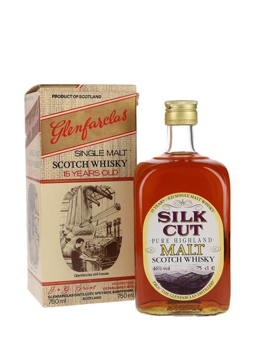 Glenfarclas 15 Year Old / Silk Cut / Bot.1980s Speyside Whisky
