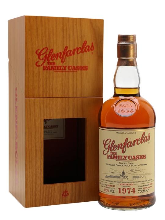Glenfarclas 1974 / Family Casks W15 /#6049 Speyside Whisky