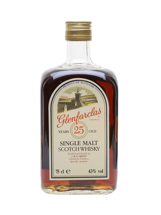 Glenfarclas 25 Year Old / Bot.1980s Speyside Single Malt Scotch Whisky