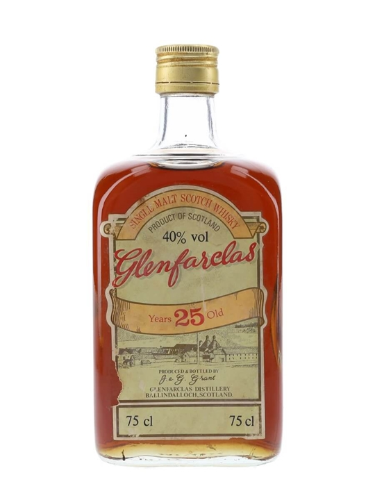 Glenfarclas 25 Year Old / Bot.1970s Speyside Single Malt Scotch Whisky