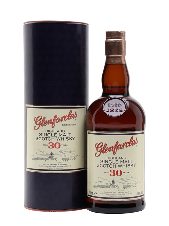 Glenfarclas 30 Year Old Speyside Single Malt Scotch Whisky