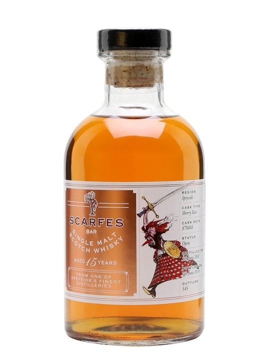 Scarfes Bar 2001 Speyside / 15 Year Old / Macbeth Speyside Whisky