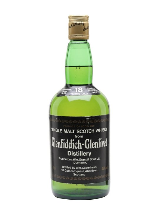 Glenfiddich 1965 / 18 Year Old / Cadenhead's Speyside Whisky