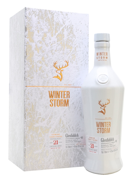 Glenfiddich 21 Year Old Winter Storm / Batch Two Speyside Whisky