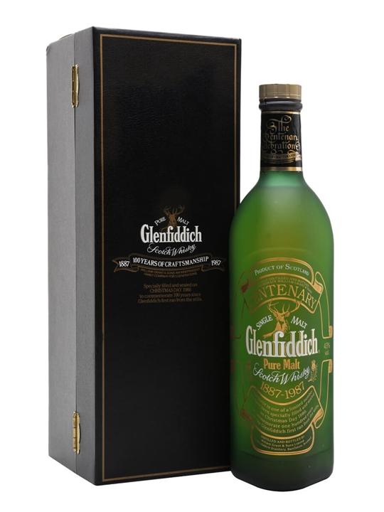 Glenfiddich Centenary / Centenary 1987 Speyside Whisky