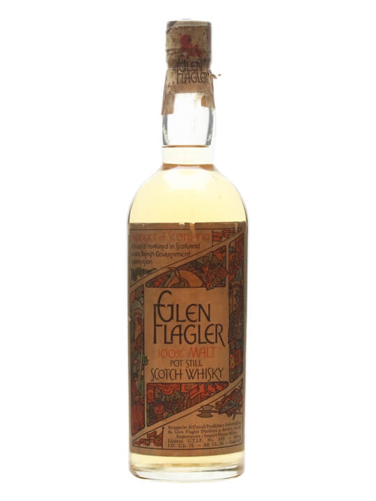 Glen Flagler / Bot.1970s Lowland Single Malt Scotch Whisky