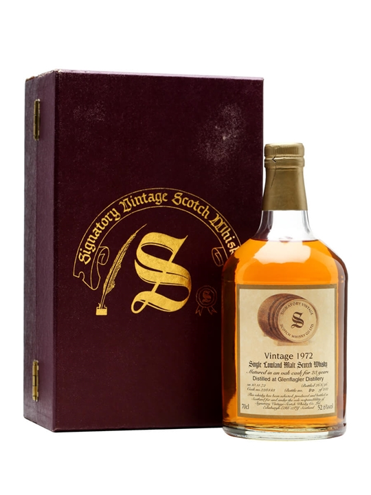 Glenflagler 1972 / 23 Year Old / Signatory Lowland Whisky