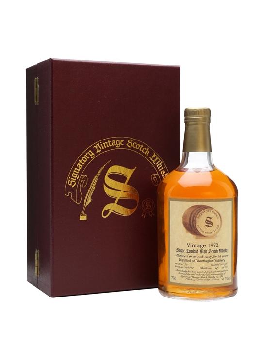 Glen Flagler 1972 / 23 Year Old / Signatory Lowland Whisky