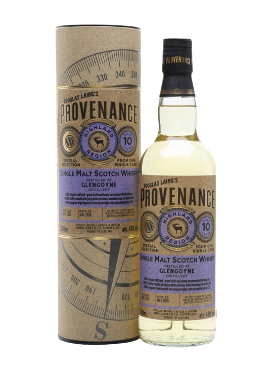 Glengoyne 2008 / 10 Year Old / Provenance Highland Whisky