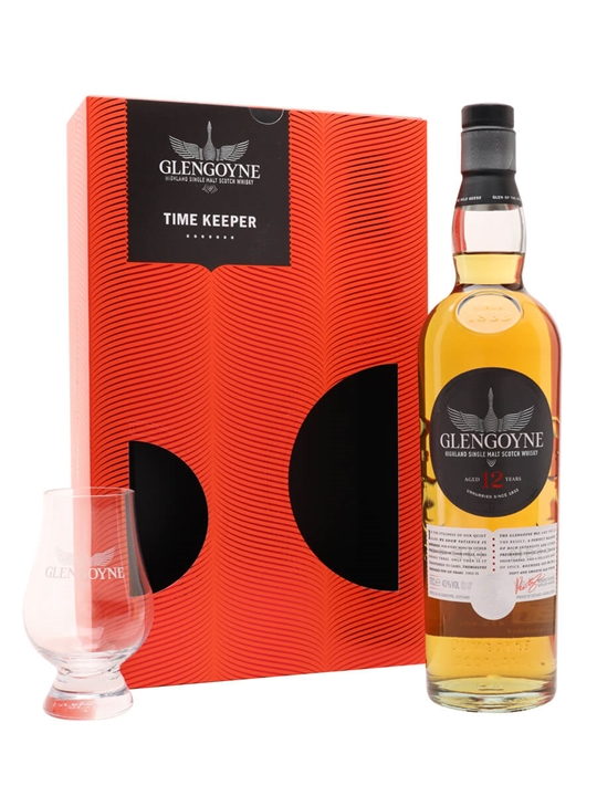 Glengoyne 12 Year Old / Time Keeper Gift Set Highland Whisky
