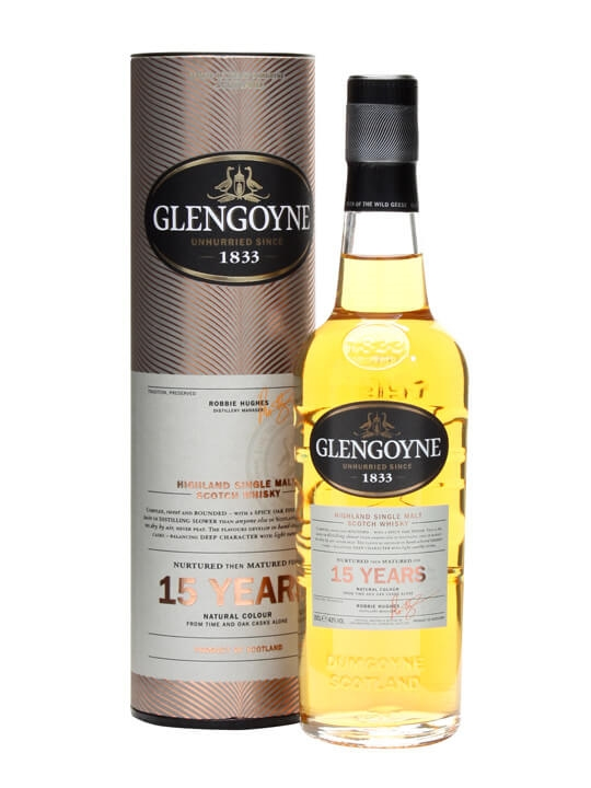 Glengoyne 15 Year Old / Small Bottle Highland Whisky