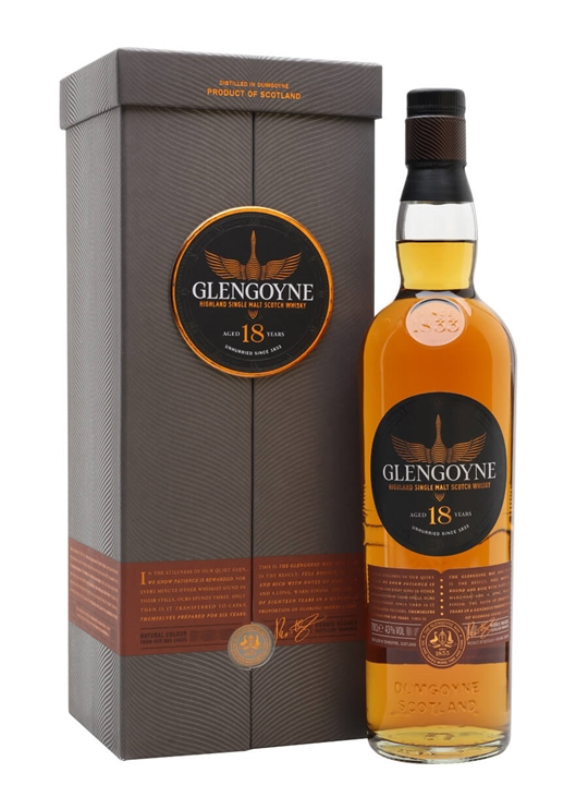 Glengoyne 18 Year Old Highland Single Malt Scotch Whisky