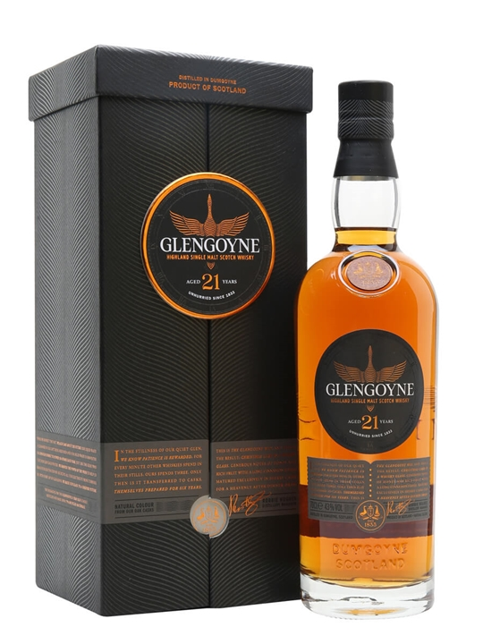 Glengoyne 21 Year Old / Sherry Cask Highland Single Malt Scotch Whisky