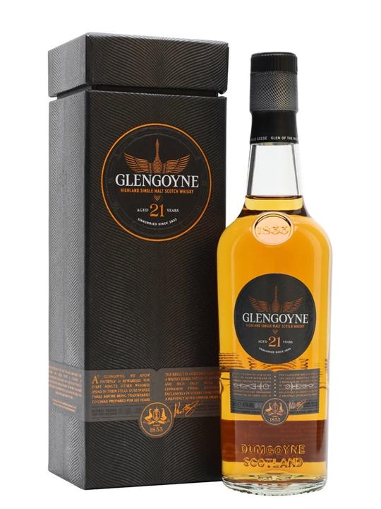 Glengoyne 21 Year Old / Sherry Matured / Small Bottle Highland Whisky