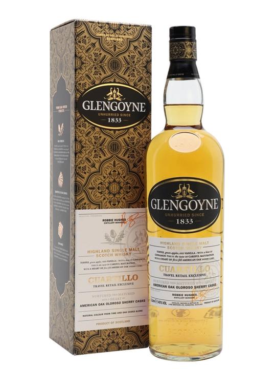 Glengoyne Cuartillo / Sherry Cask Highland Single Malt Scotch Whisky
