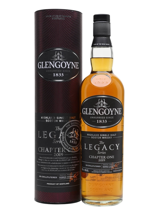 Glengoyne The Legacy Series Chapter One / Bot.2019 Highland Whisky