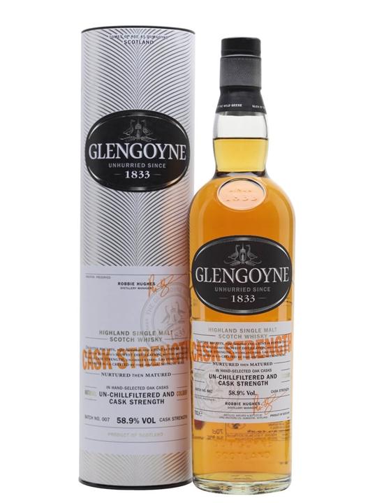 Glengoyne Cask Strength / Batch 7 Highland Single Malt Scotch Whisky