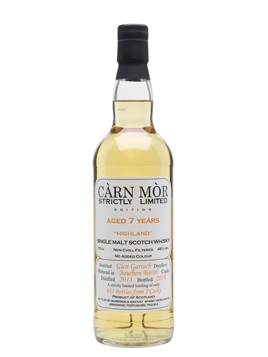 Glen Garioch 2011 / 7 Year Old / Carn Mor Strictly Limited Highland Whisky