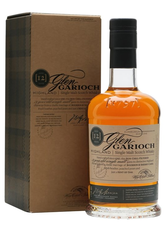 Glen Garioch 12 Year Old Highland Single Malt Scotch Whisky
