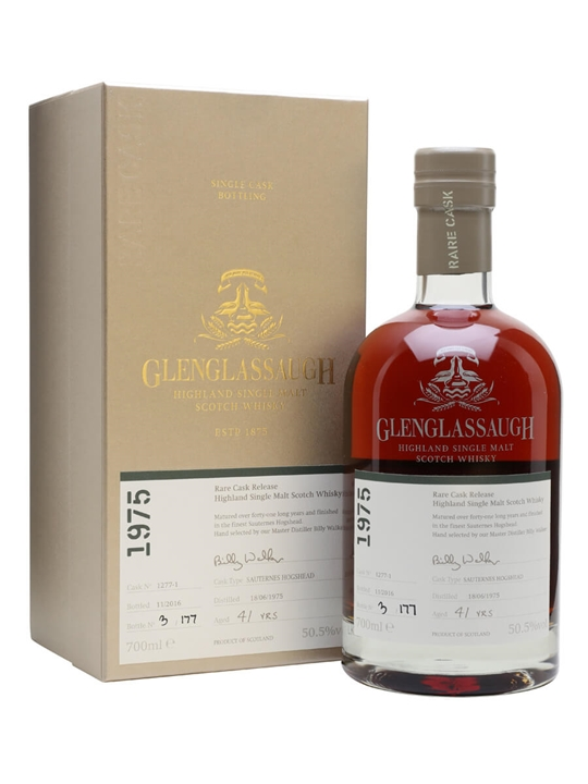 Glenglassaugh 1975 / 41 Year Old / Rare Cask Release Batch 3 Highland Whisky