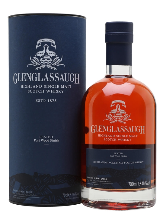 Glenglassaugh Peated Port Wood Finish Highland Whisky