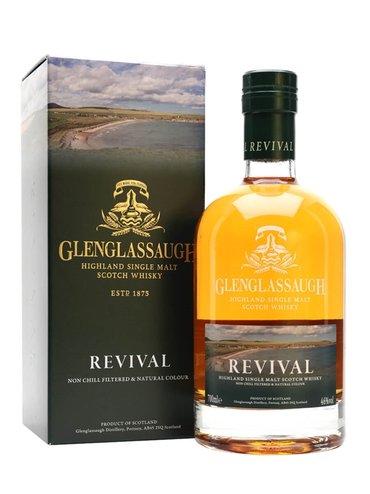 Glenglassaugh Revival Highland Single Malt Scotch Whisky