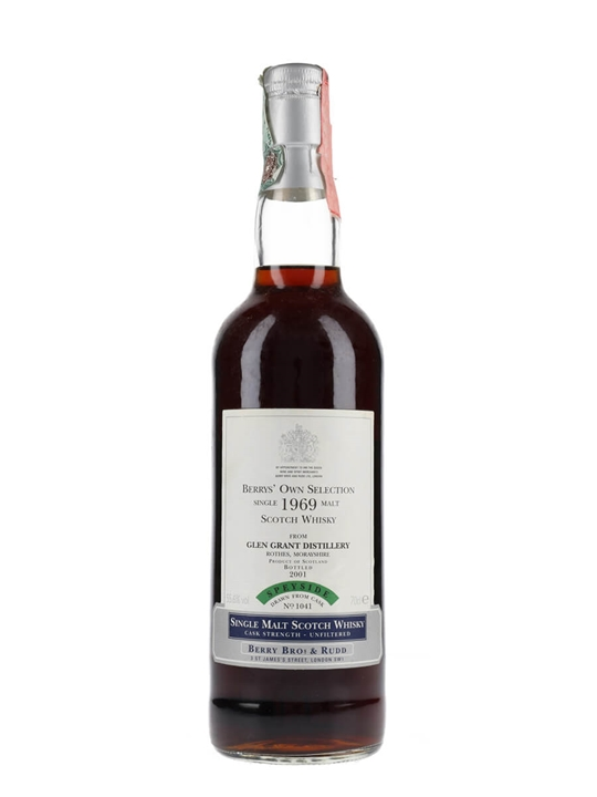 Glen Grant 1969 / Bot.2001 / Berrys' Own Selection Speyside Whisky