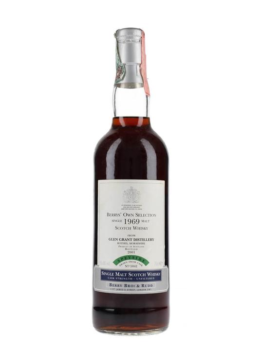 Glen Grant 1969 / Bot.2001 / Berrys Own Selection Speyside Whisky