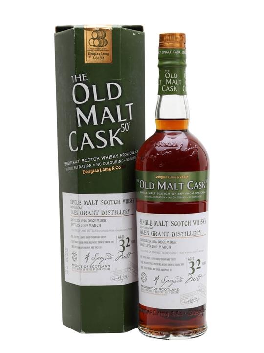 Glen Grant 1976 / 32 Year Old / Sherry Butt / Old Malt Cask Speyside Whisky