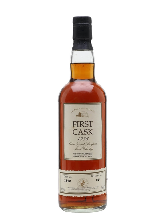 Glen Grant 1976 / 20 Year Old / Sherry Cask / First Cask Speyside Whisky