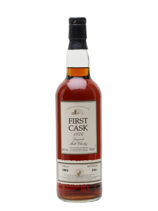 Glen Grant 1976 / 24 Year Old / Sherry Cask / First Cask Speyside Whisky