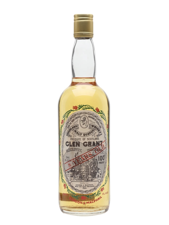 Glen Grant 8 Year Old / Bot.1970s / G&M Speyside Whisky