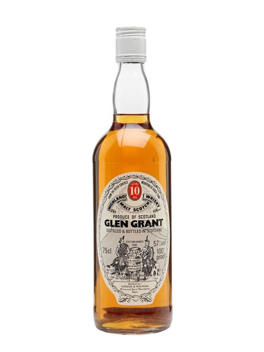 Glen Grant 10 Year Old / Bot.1980s / Gordon & Macphail Speyside Whisky