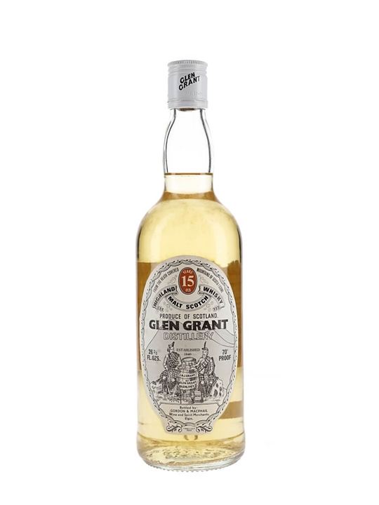 Glen Grant 15 Year Old / Bot.1970s / Gordon & Macphail Speyside Whisky