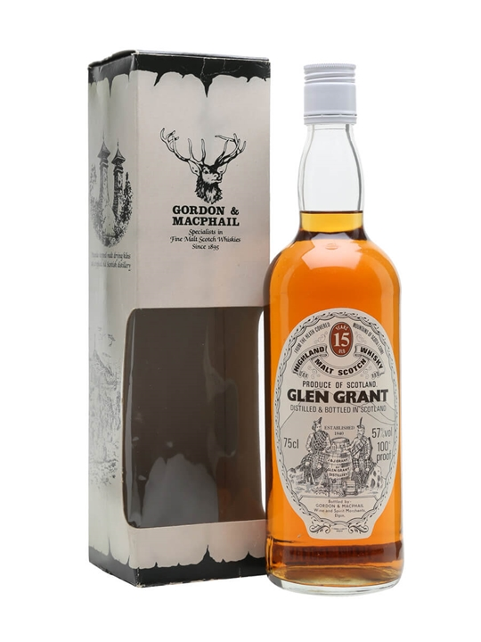 Glen Grant 15 Year Old / Bot.1980s / Gordon & Macphail Speyside Whisky