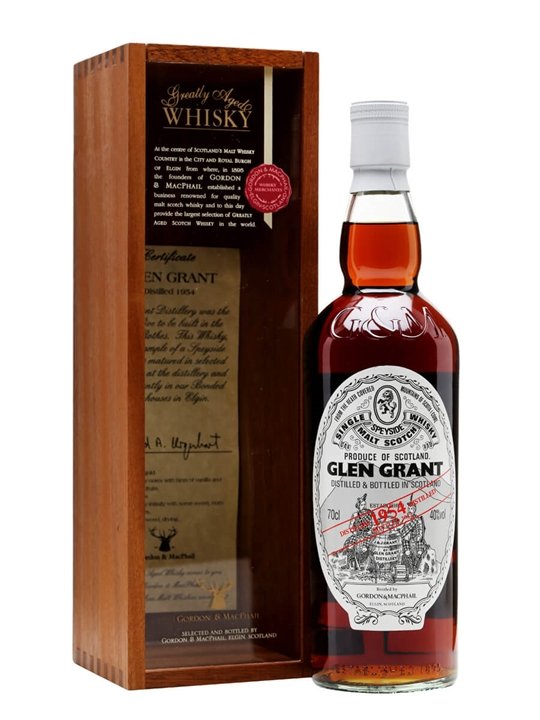 Glen Grant 1954 / 57 Year Old / Gordon & Macphail Speyside Whisky