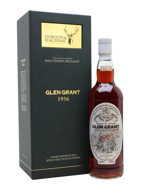 Glen Grant 1956 / 54 Year Old / Gordon & Macphail Speyside Whisky