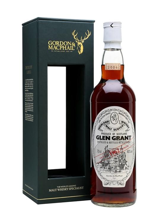 Glen Grant 1962 / 43 Year Old / Gordon & Macphail Speyside Whisky