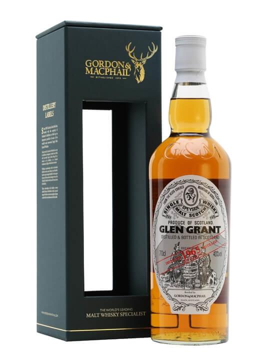 Glen Grant 1965 / 47 Year Old / Gordon & Macphail Speyside Whisky