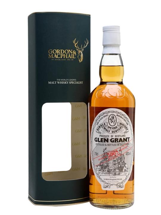 Glen Grant 2005 / Bot.2016 / Gordon & Macphail Speyside Whisky
