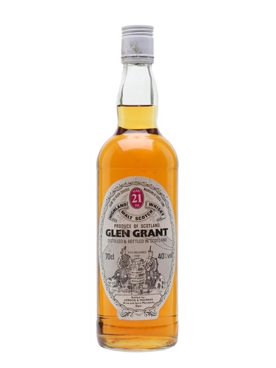 Glen Grant 21 Year Old Speyside Single Malt Scotch Whisky