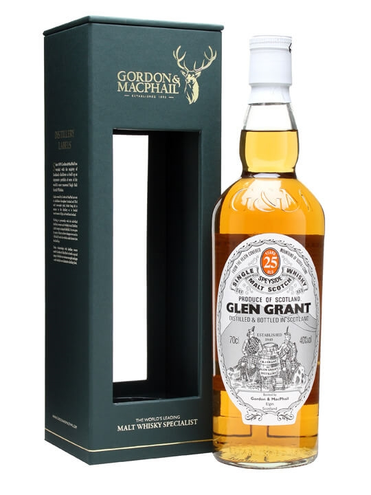Glen Grant 25 Year Old / Gordon & Macphail Speyside Whisky