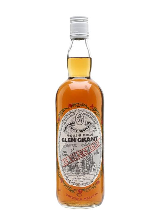 Glen Grant 25 Year Old / Bot.1970s / Gordon & Macphail Speyside Whisky