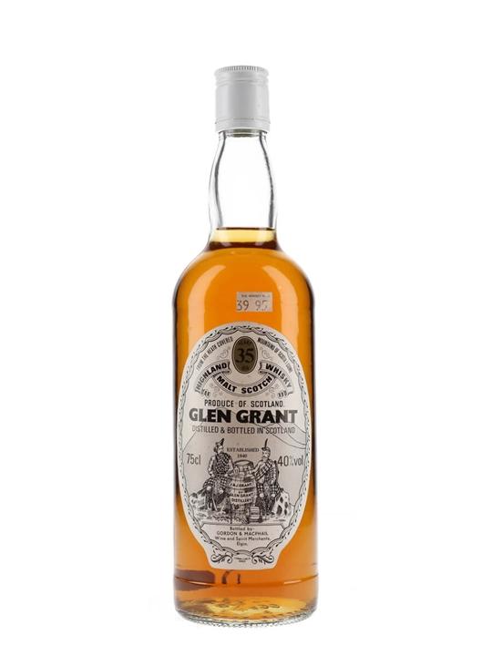 Glen Grant 35 Year Old / Bot.1980s / Gordon & Macphail Speyside Whisky